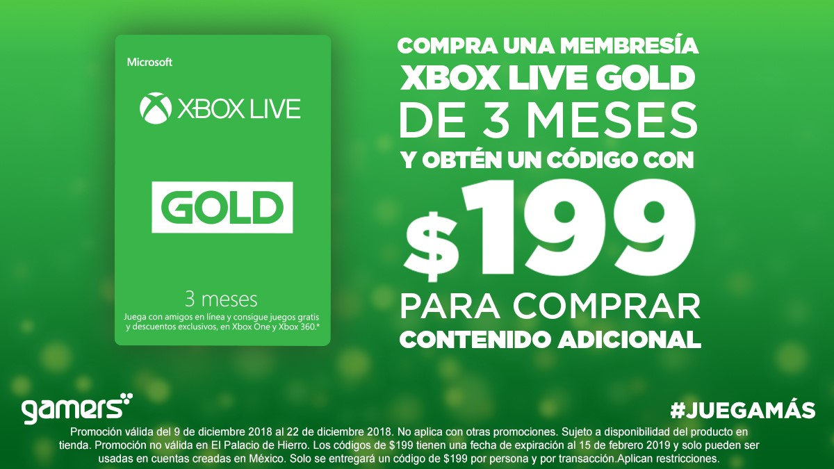 Xbox Live 199 Gamers